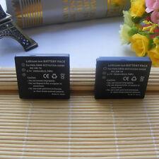 2Pcs Battery for Panasonic DMW-BCE10E Battery Fit DMW-BCE10PP CGA-S008 VW-VBJ10