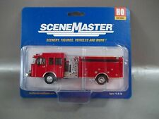 NIB WEALTHERS SCENE MASTERS HEAVY DUTY RED FIRE ENGINE HO SCALE