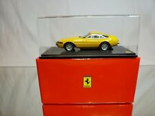 KYOSHO 05051Y FERRARI 365 GTB/4 early version - YELLOW 1:43 - EXCELLENT IN BOX