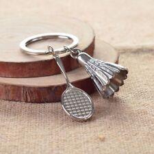 Creative Fashion 3D Badminton Shape Key Chain Sport Business Gifts Keyring