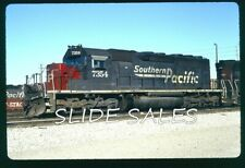 cf7886 Orig. Slide Southern Pacific 7354 SD40 in CA on 2-96