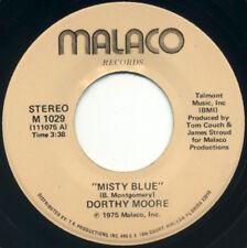 "DORTHY MOORE Misty Blue/Here It Is 7"" 1975 Malaco EX+"