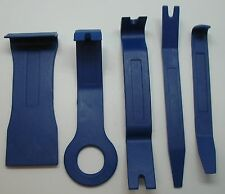 5 Pc Nylon Dash Trim Panel Molding Removal Tool Set Pry Bar Board Auto Car Door