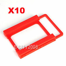 "Lot of 10, 2.5"" to 3.5"" Adapter SSD HDD Mounting Bracket Tray Caddy Bay USA SHIP"