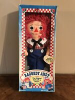 Vintage Raggedy Andy Original Doll with a Heart Johnny Gruelle Hasbro 1996 New