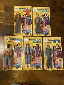 VINTAGE MATTEL 1976 WELCOME BACK KOTTER COMPLETE SET  #9770 #9771 #9772 #9773...