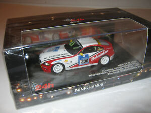 1:43 BMW Z4 M Coupe Willows 24 Hrs. Nürb 2011 Minichamps 437111236 Boxed New