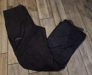 Patagonia Snowshot Pants Skiing Discontinued Black Sz M H2NO