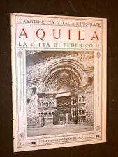 Aquila, la città di Federico II - Le Cento Città d'Italia illustrate
