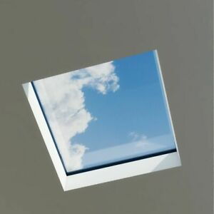 Flat Roof Lantern Skylight / Glass / Roof Glass / Various Sizes / UK DELIVERY