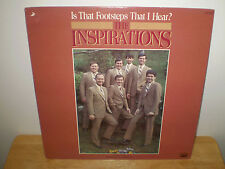 """THE INSPIRATIONS....""""IS THAT FOOTSTEPS THAT I HEAR?""""........OOP HTF GOSPEL ALBUM"""