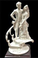"Giuseppe Armani Florence 13"" Porcelain Bride And Groom On Stairs Figurine 1611#6"