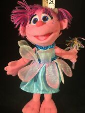 "Toy Plush Stuffed Doll Hasbro ABBY CADABBY 12"" Sesame Street Muppets No Tags"