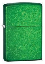 Zippo Windproof Meadow Green Lighter, # 24840, New In Box