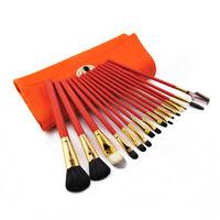 16pcs Professional Makeup Brushes Set Cosmetic Shadow Face Lip Pencil Brush Kit