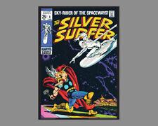 POSTER: SILVER SURFER #4 (SS vs. Thor Feb 1969) Marvel Comics COVER POSTER Print