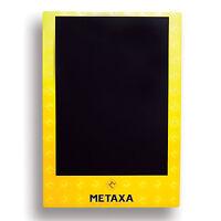 Metaxa Tafel Kreidetafel Werbetafel Aufklebbar Gastro Bar Deko NEU