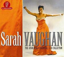 Sarah Vaughan - The Absolutely Essential 3CD Collection (NEW 3CD)