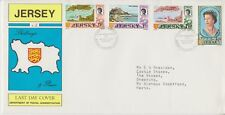 Jersey Last Day Cover 1972 Definitive issue 9d-1/9 10% off 5
