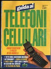 GUIDA AI TELEFONI CELLULARI 1995-PAG.226 CIRCA 100 SCHEDE-COME ERANO 20 ANNI FA