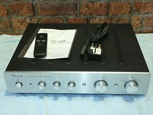 Vincent SV-129 High Quality Silver Finish Integrated Stereo Amplifier