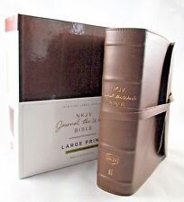 Journal the Word Bible NKJV Large Print Genuine Premium Leather Lmt Edition NEW