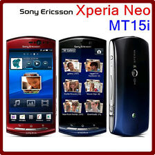 Original Sony Ericsson Xperia Neo MT15i (Unlocked) Android GPS WIFI 8MP 3.7""