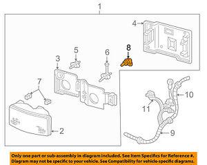 GM OEM-Headlight 9441732