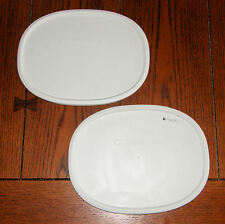 2 NEW Corning Ware French White Lid F-2-PC fit F-2-B/F-6-B Plastic Storage Cover