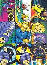 THE PHANTOM 1995 COMIC IMAGES COMPLETE BASE CARD SET OF 90 MC