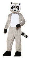Adult Ricky Raccoon Mascot Costume Full Body Animal Suit Adult Size Standard