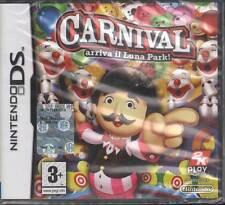 Carnival Arriva Il Luna Park Videogioco Nintendo DS NDS Sigillato 5026555042932