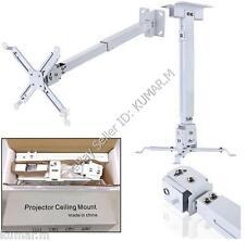 HQ Universal Extendable Projector Ceiling Mount Tilt Portable Bracket  SKU#852