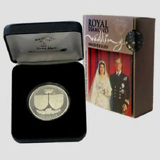 2007 ROYAL WEDDING ANNIVERSARY, 1 OZ SILVER PROOF COIN NEW ZEALAND