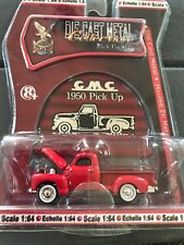 Road Signature Yat Ming 1950 Gmc Pick Up Truck Series Die Cast Red 1/64 Scale