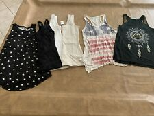 Euc Lot Of (6) Maurices Tanks. Size Xs