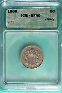 1869 - ICG EF40 RPD Shield Nickel!!  #B25223