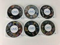 Lot Of 6 Sony PSP Japanese JP Import Games: Monster Hunter God Eater Sengoku