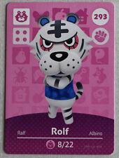 Unscanned Nintendo Animal Crossing Amiibo Card - Rolf 293