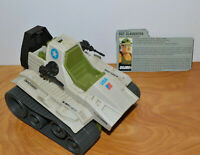VINTAGE GI JOE SGT SLAUGHTER TRIPLE T TANK VEHICLE & FILE CARD LOT 1986 ARAH