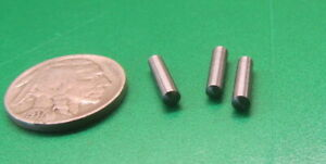 """Steel Taper Pins No. 3/0 .125 Large End x .115 Small End x 1/2"""" Long, 50 Pcs"""
