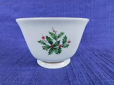 Lenox Holiday Treat Bowl Square Holly, Berry