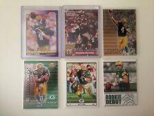 6 card Brett Favre RC lot Falcons Packers Vikings No Duplicates!