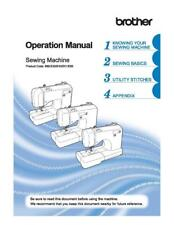 Brother SM8270 Sewing Machine Manual Instructions User Guide COLOR COPY
