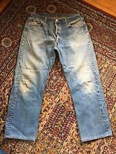 Vintage Levi's 501xx Jeans 90s Grunge Button Fly 36 x 30