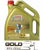 5W 30 Castrol EDGE LL 5 Liter Motorenöl VW 504 00  507 00 Longlife TITANIUM FST