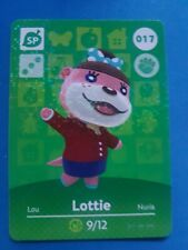 017 Lottie Animal Crossing Amiibo Card Single - Series 1 Near Mint US Version