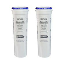 2x Genuine Fisher & Paykel Refrigerator Water Filter Cartridges: 836848 (Qty x2)