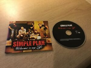 Simple Plan 'Welcome To My Life' CD Single Promo Lava Records 2005 Mint