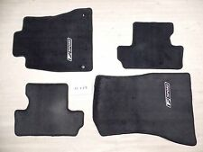 BLACK FLOOR MATS OEM NICE LEXUS IS250C IS350C 10-14 FRONT REAR SET CONVERTIBLE